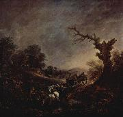 Thomas Gainsborough Sunset oil painting reproduction