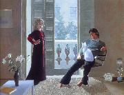 david hockney mr and mrs clark and percy oil on canvas