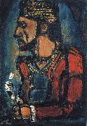 georges rouault Old King oil