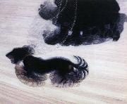 giacomo balla dynamism of a dog on a leash oil painting artist