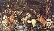paolo uccello the battle of san romano oil painting reproduction