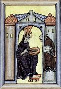 unknow artist Hildegard of Bingen illusion painting
