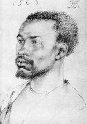 Albrecht Durer Head of a Negro painting
