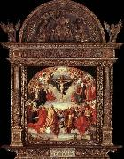 Albrecht Durer The Adoration of the Holy Trinity china oil painting artist