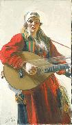 Anders Zorn Home Tunes, painting