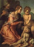 Andrea del Sarto Holy Family painting