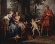 Angelica Kauffmann Venus convinces Helen to go with Paris china oil painting artist