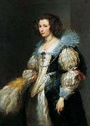 Anthony Van Dyck Marie Louise de Tassis, Antwerp 1630 oil painting reproduction