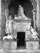 Antonio Canova Tomb of Pope Clement XIII oil on canvas