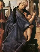 BRAMANTINO Holy Family painting