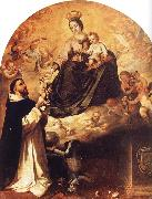 Bartolome Esteban Murillo Virgin Mary and the Santo Domingo china oil painting artist