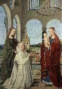 CHRISTUS, Petrus Madonna and Child oil painting reproduction