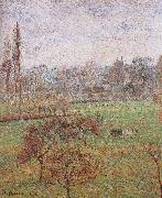 Camille Pissarro autumn morning oil painting reproduction