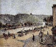 Camille Pissarro port oil painting reproduction