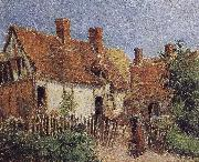 Camille Pissarro Housing painting