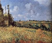 Camille Pissarro Catcher oil painting reproduction
