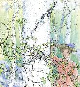 Carl Larsson Spring oil painting reproduction