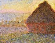 Claude Monet Haystacks, painting