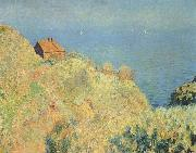 Claude Monet Hut of the Douaniers with Varengeville, painting