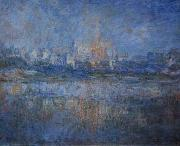 Claude Monet Vetheuil in the Fog oil painting reproduction