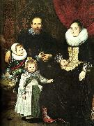 Cornelis de Vos the painter and his family oil on canvas