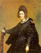 Diego Velazquez Lady from court, oil painting reproduction