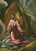 El Greco christ on the mount of olives oil painting reproduction