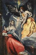 El Greco The Annunciation oil painting reproduction