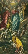 El Greco assumption of the virgin oil painting reproduction