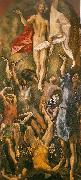 El Greco resurrection oil painting reproduction