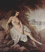 Francesco Hayez Bather oil painting reproduction