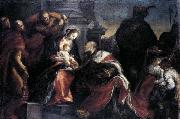 Francisco Camilo Adoration of the Magi oil on canvas