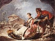 Francois Boucher Winter china oil painting reproduction