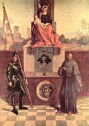 Giorgione The Castelfranco Madonna, before recent cleaning china oil painting artist