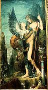 Gustave Moreau Oedipus and the Sphinx painting
