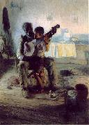 Henry Ossawa Tanner Henry Ossawa Tanner, The Banjo Lesson, painting