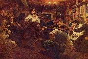 Ilya Repin Party oil painting reproduction