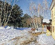 Isaac Levitan March, oil painting reproduction