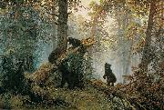 Ivan Shishkin Morning in a Pine Forest china oil painting reproduction