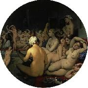 Jean Auguste Dominique Ingres The Turkish Bath oil painting reproduction