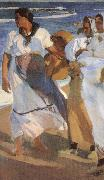 Joaquin Sorolla Valencia beaches china oil painting reproduction