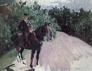Joaquin Sorolla The rider oil painting reproduction