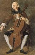 Johann Wolfgang von Goethe who worked in vienna and madrid. he was a fine cellist china oil painting reproduction