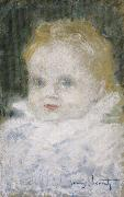 Louis Lcart Portrait of a child oil painting reproduction