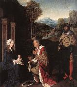 Master of Hoogstraeten Adoration of the Magi oil on canvas