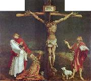 Matthias Grunewald The Crucifixion, central panel of the Isenheim Altarpiece. oil on canvas