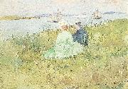 Maurice Prendergast Viewing the Ships china oil painting artist