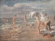 Max Liebermann Boys Bathing oil painting reproduction