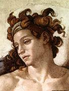 Michelangelo Buonarroti Ignudo oil painting reproduction