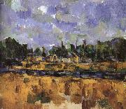 Paul Cezanne Oeverstaten painting